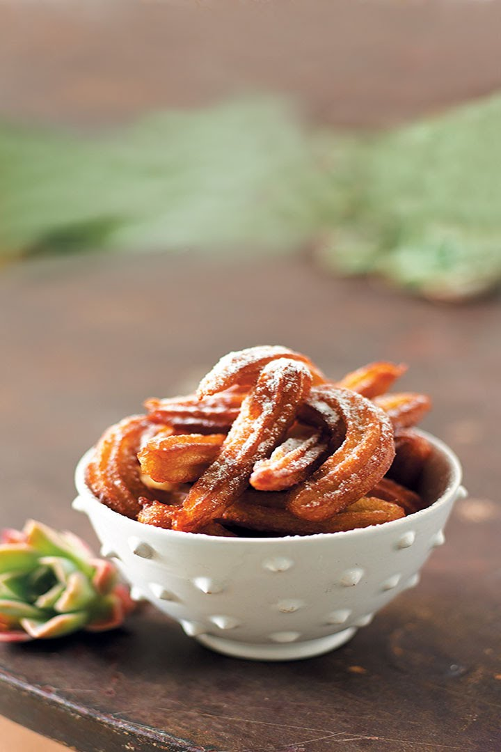 The Boiler Room Sweet Potato Churros