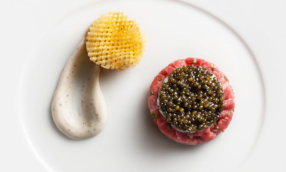 Le Bernardin Caviar-Wagyu