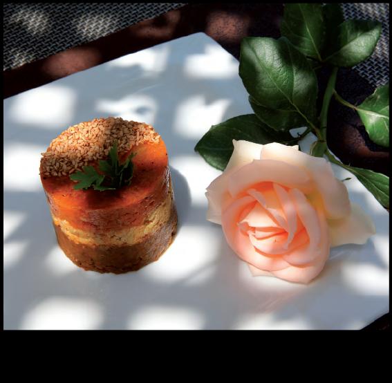 Restaurant Riad Monceau Tatin Pie